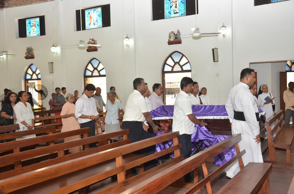 Funeral service of Rev. Fr. Damian Fernando (OMI)